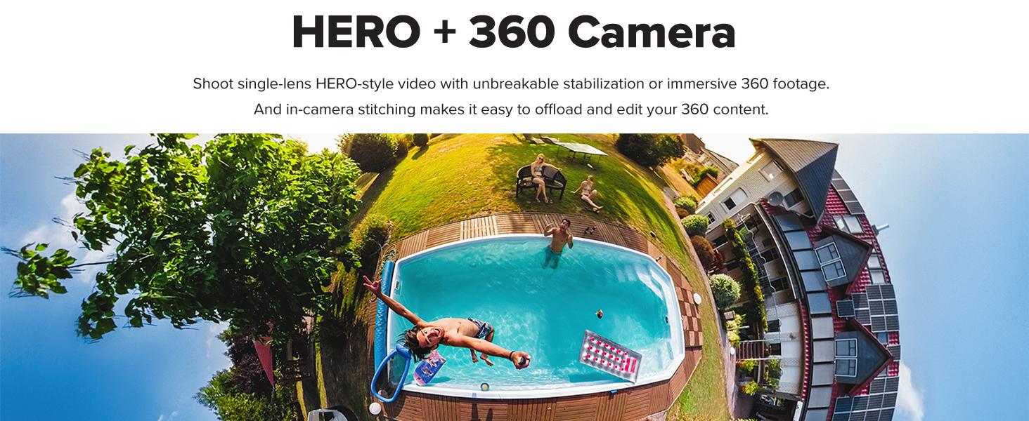 GoPro HERO + 360 Kamera