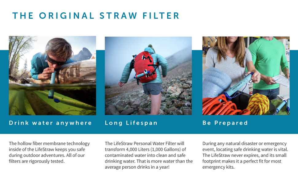 lifestraw how to use