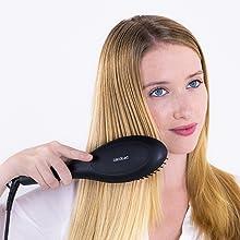 perie de păr, perie ionică, perie de îndreptare a părului