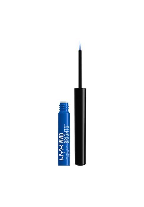 nyx vivid brights eyeliner liquid eyeliner