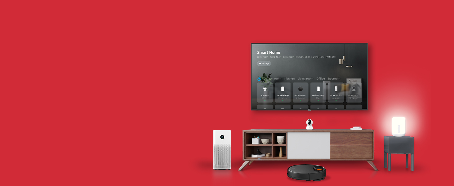 A smart and new way for you to control and synchronize all your smart devices at home.