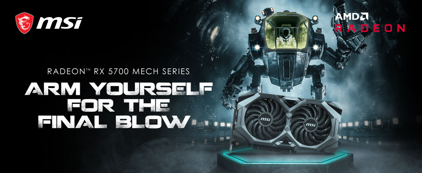 MSI Radeon RX 5700 MECH Series