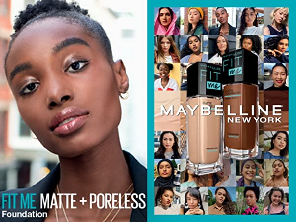 maybelline foundation, maybelline fit me foundation, foundation for oily skin, matte finish