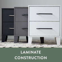 laminate construction sturdy wood night stand sturdy wood end table quick assembly