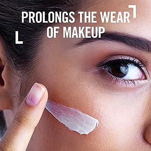 mattifying makeup primer, gel primer, fresh looking skin, makeup base, even skin tone, smooth skin