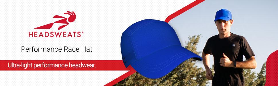 Headsweats, Performance Race Hat, Running Hat, Performance headwear, ultra-light hat.
