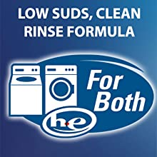 Low Suds, Clean Rinse Formula