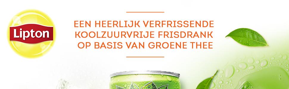 een heerlijk verfrissende koolzuurvrije frisdrank op basis van groene thee