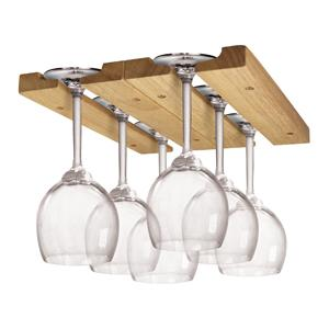 Amazon Com Fox Run 5025 Mounted Under Cabinet Wooden Wine