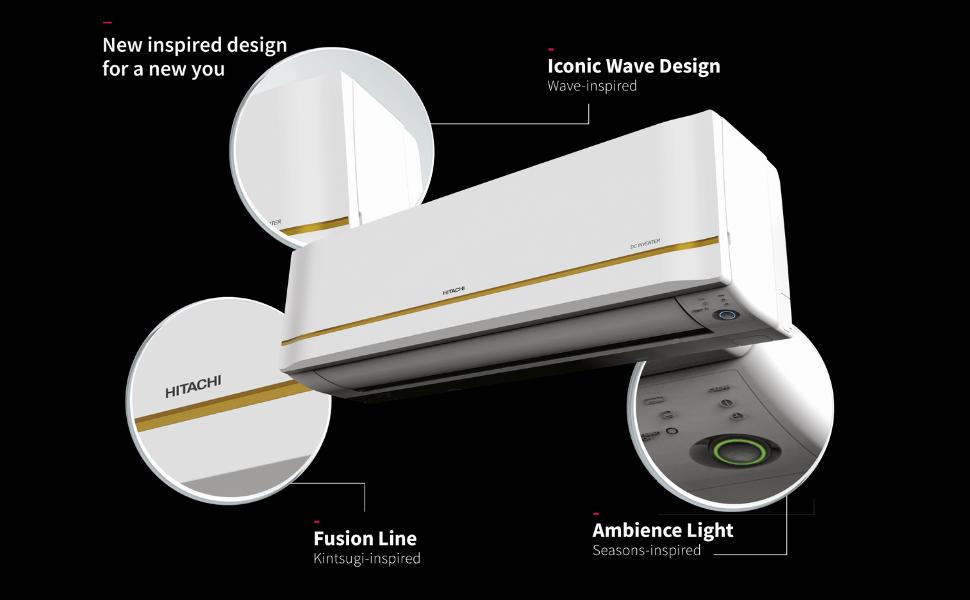 Hitachi Kiyora New Inspired Design Split AC