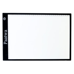 JUNLON A4 Aluminum LED Light Pad Box Great Variety Tracing Board Table for