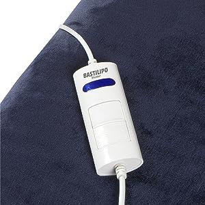 Bastilipo Me-160 - Manta eléctrica portable