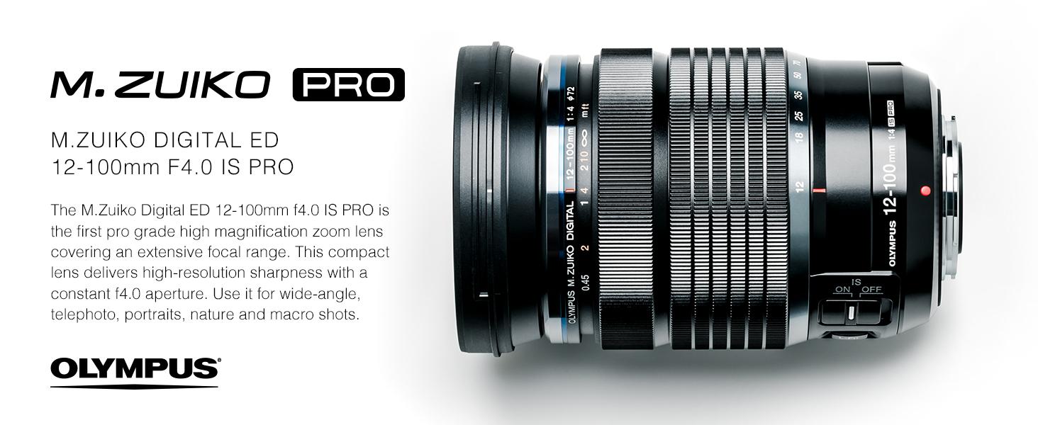 Amazon Com Olympus M Zuiko Digital Ed 12 100mm F4 0 Pro Lens For Micro Four Thirds Cameras Camera Photo