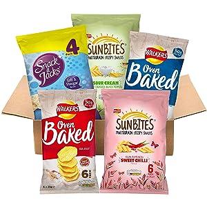 Under 100 calories snacks box