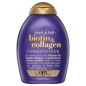 ogx organic conditioner treatment for thick and full hair biotin collagen conditioner pantene best