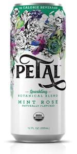 Mint Rose Petal Sparkling Botanical Water