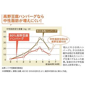 高野豆腐 ハンバーグ 中性脂肪 動脈硬化