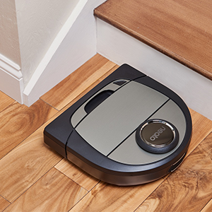 D Shaped design gets into corners better than other robotic vacuums