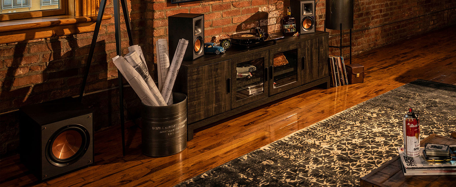 Klipsch, R-41PM, R-51PM, powered monitors, powered speakers