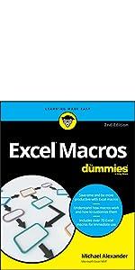 excel macros, dummies