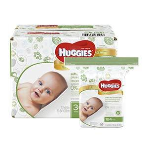 Amazon Com Huggies Natural Care Fragrance Free Baby Wipes