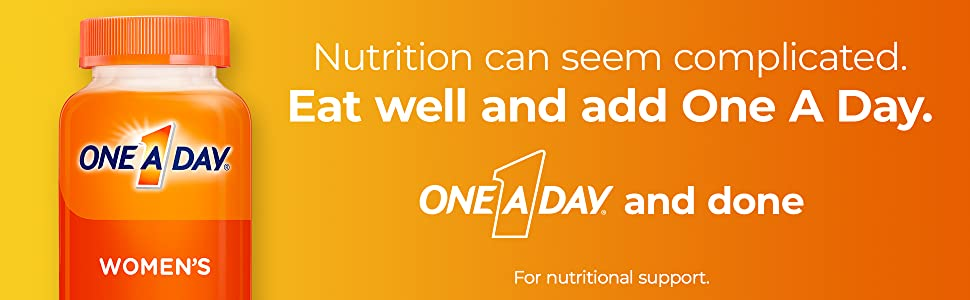 one a day nutrition women's