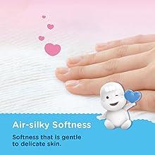Air-silky Softness Diaper