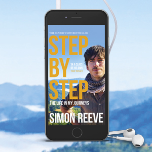 Audiobook packshot of Step by Step by Simon Reeve