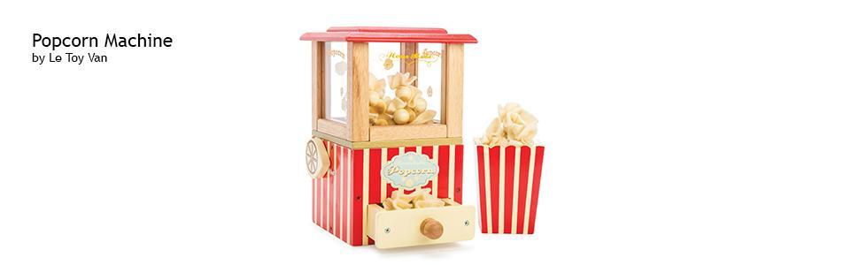 f703109ec Le Toy Van Honeybake Wooden Popcorn Machine: Amazon.co.uk: Toys & Games