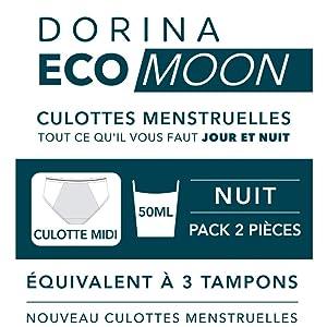 DORINA Eco Moon Pack DE Deux Culottes MENSTRUELLES Super ...