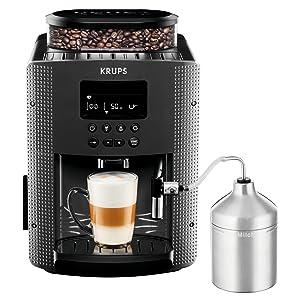 Krups YY4081FD Machine à Café Automatique avec Broyeur à Grains ...
