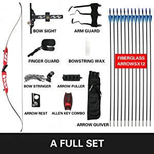 bow and arrow for adults bow and arrow for teens adult recurve bow archery bows