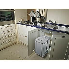 pattumiera,secchio,raccolta,differenziata,elletipi,cestino,differenza,sottolavello,cucina,kitchen,bi