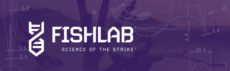 FishLab Lures Science Of the Strike - Footer Image