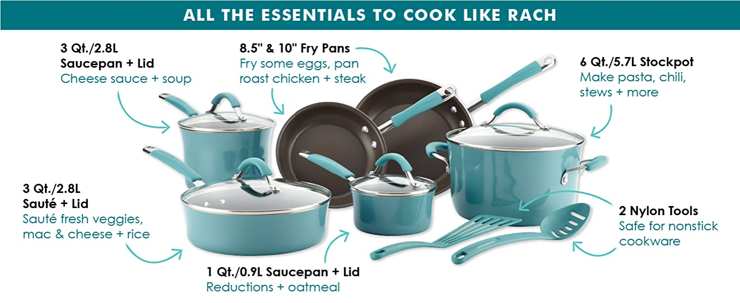 cookware, pots and pans, nonstick cookware, nonstick pan, skillet, frying pan
