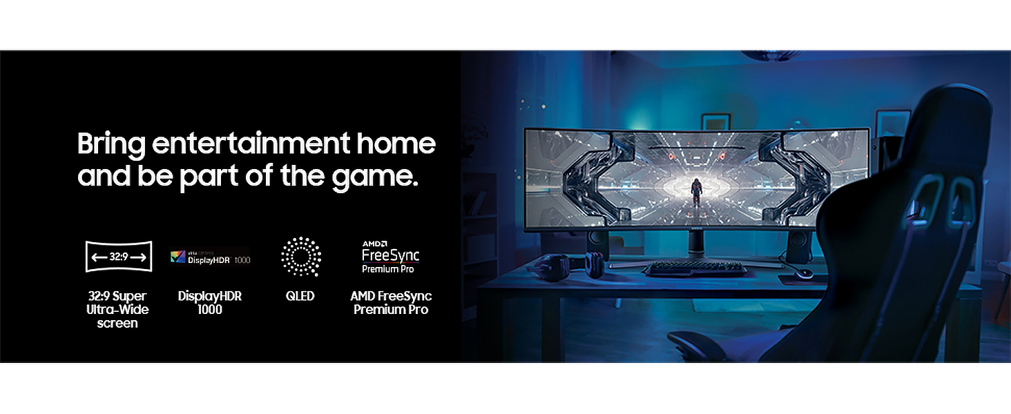 Bring entertainment home and be part of the game