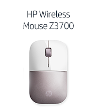 HP Wireless Mouse Z3700 - Pink (Gadget, 4VY82AA)