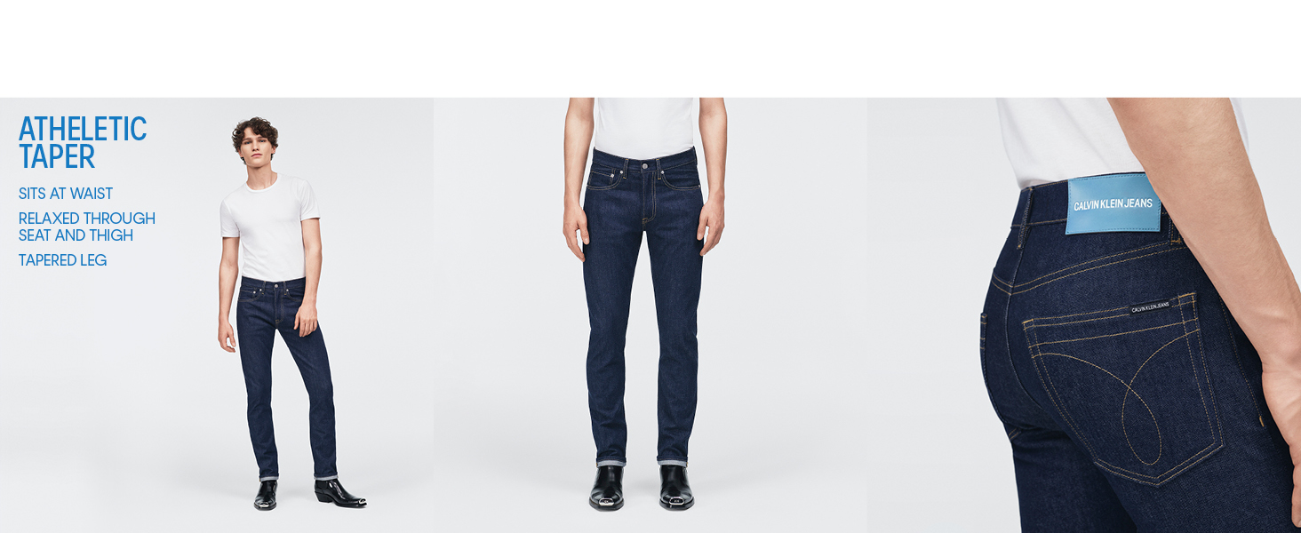 1ec45382 Calvin Klein Men's Straight Fit Jeans at Amazon Men's Clothing store: