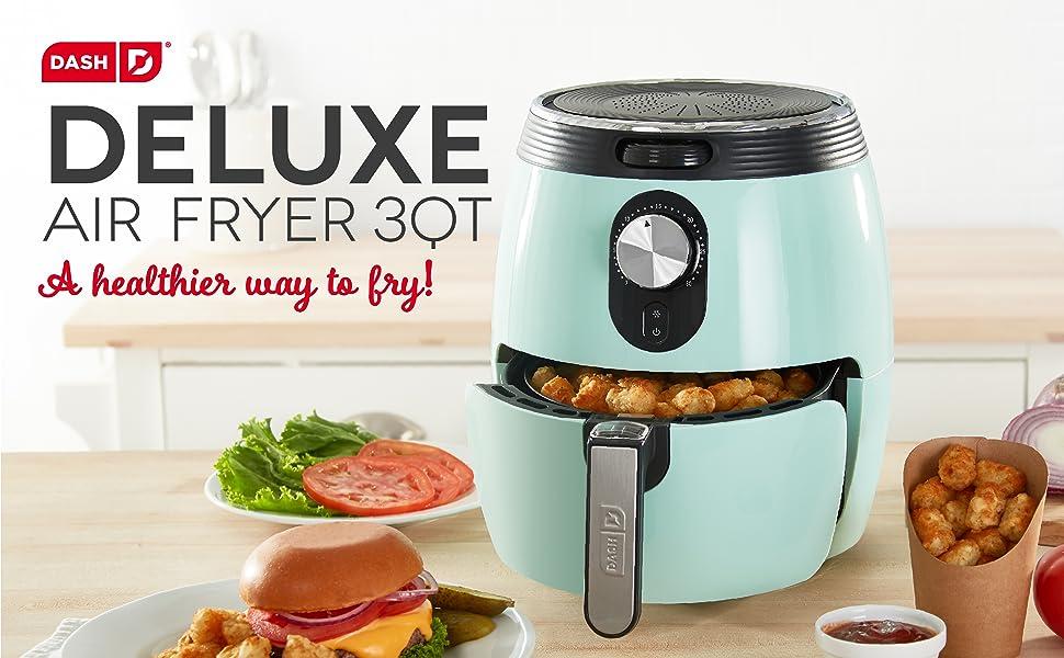 air fryer, healthy, fried, fries, dash, chicken, easy, quart, family, fryer