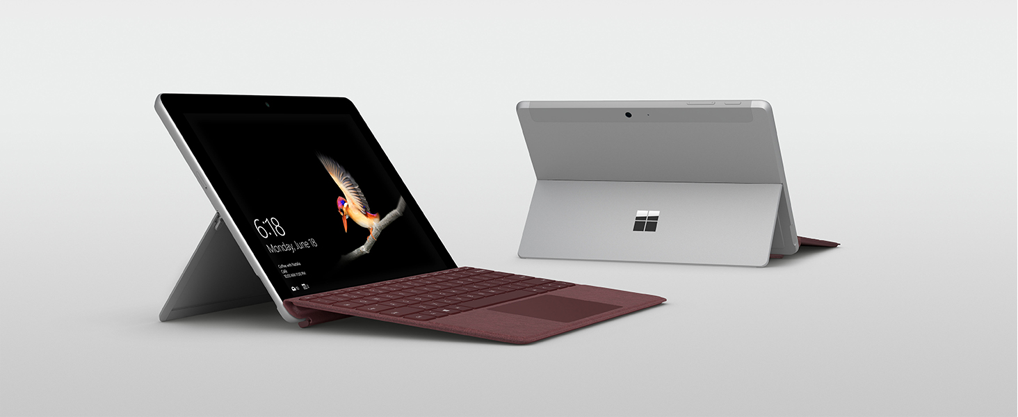 Surface Go, Burgundy Typecover