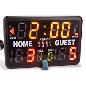 MacGregor SK2229R Multisport Indoor Scoreboard with Remote