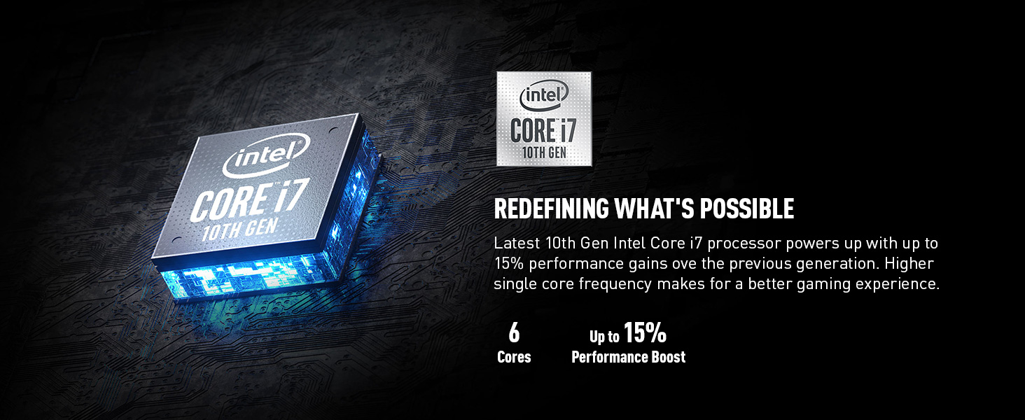 intel 10th gen core i7 processor cpu