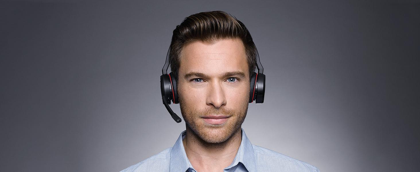 Jabra Evolve 75 Uc Wireless Stereo On Ear Headset Elektronik