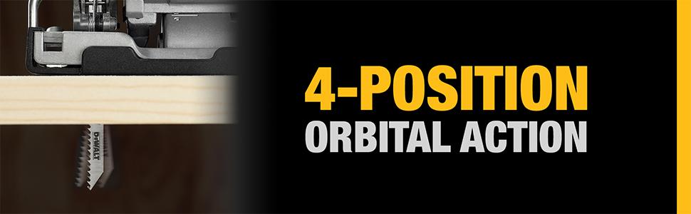 4 position orbital action