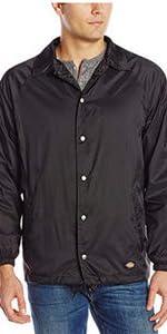 nylon jacket, lined jacket, lightweight jacket, snap front jacket, Carhartt, Wrangler, Levis, 511