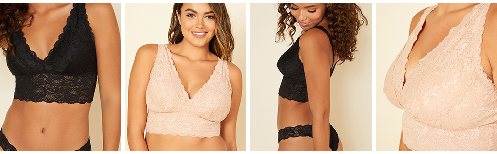 Never Say Never Plungie Bralette