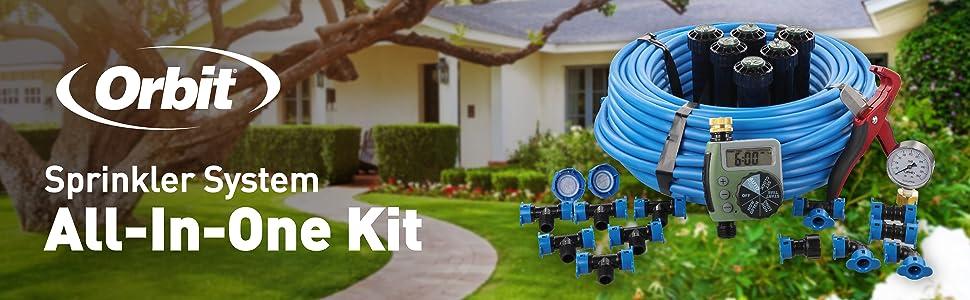 sprinkler system kit
