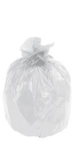 "40 x 46"" Clear 40 Gallon Trash Liner"