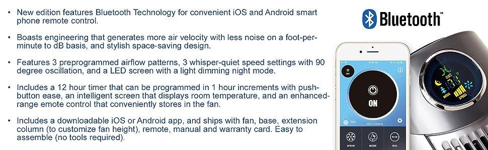 refreshing fan; remote control fan; wind fan; fresh air blower; oscillating airflow; quiet fan