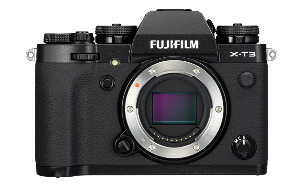 Fujifilm X-T3 body only. Black